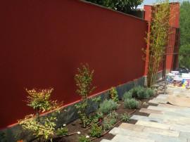 Ajardinamiento de patio en Sardón de Duero