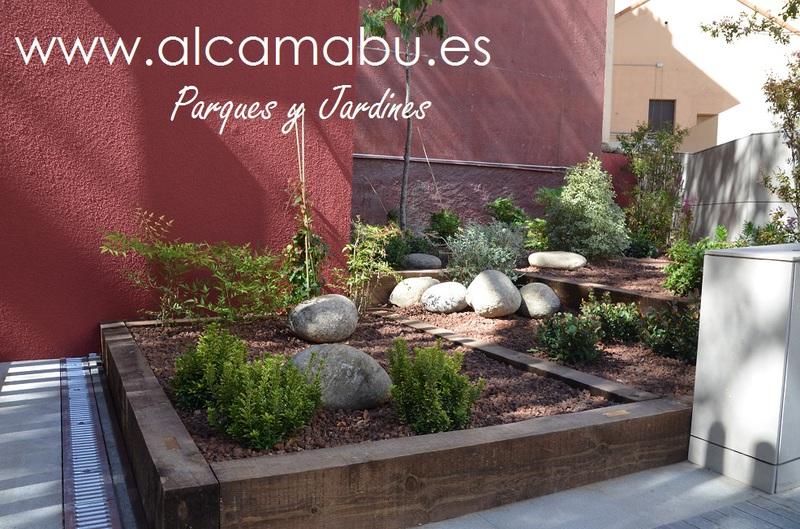 Alcamab s l parques y jardines en valladolid jardines for Jardines con poco mantenimiento