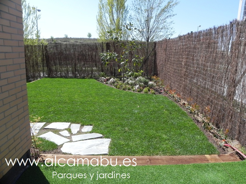 Alcamab s l parques y jardines en valladolid chalets for Jardines de bajo mantenimiento