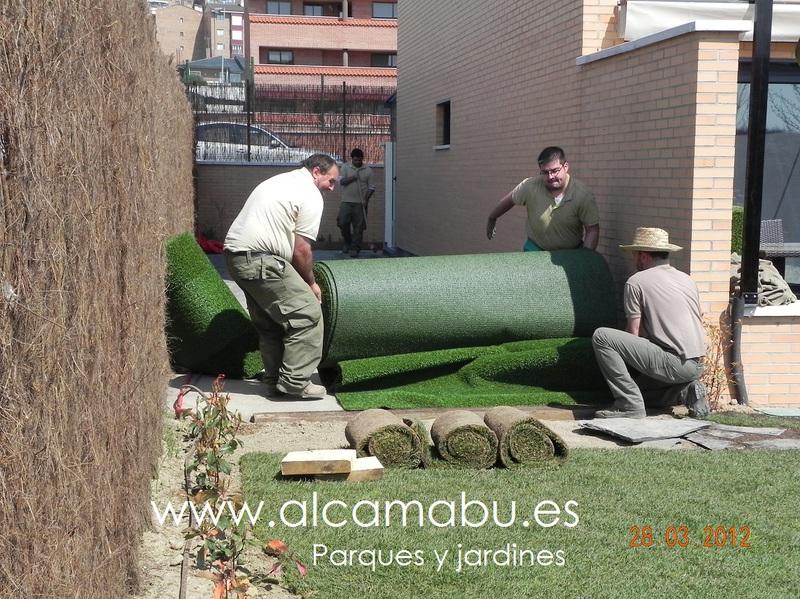 Alcamab s l parques y jardines en valladolid chalets for Mantenimiento parques y jardines